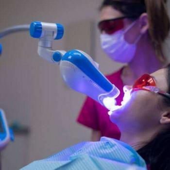 clareamento dental com laser